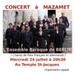 L'Ensemble Baroque de Berlin en concert